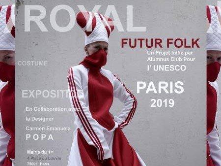 Future Folk Exhibition, Royal Costume, Paris, France