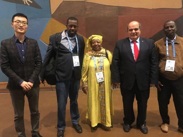 Representatives of National Federations of Benin, Guinea-Bissau and Mali Visited WFUCA Secretariat, Paris, Francewf